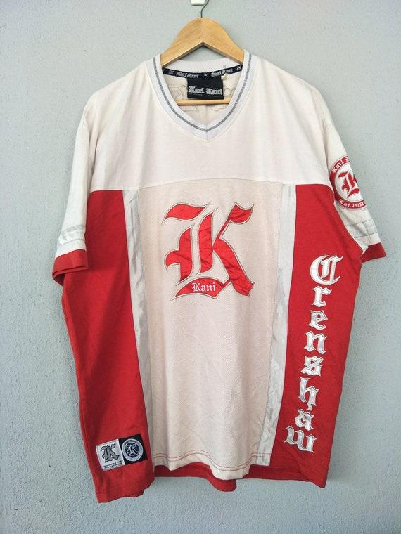 Streetwear KARL size 23 clothing Vintage 90s og king Urban of XL Crenshaw hip Vintage hop jersey KANI 90's fRw4p