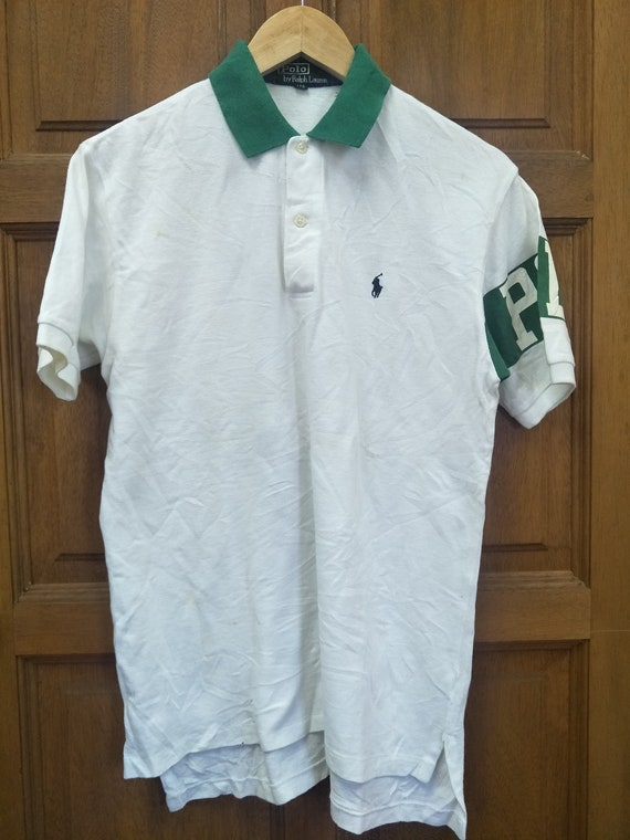 Vintage 90s POLO Spell Out at The Sleeve / Polo St
