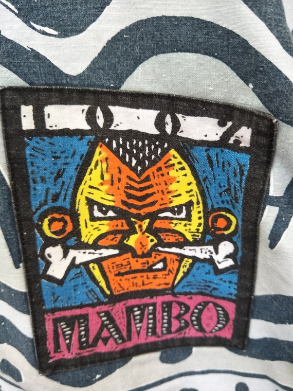 Ocean 90s Surfing Zipper Colour art Multicolor Jacket pop Hawaii Blue MAMBO critics Hooded 90s Street Vintage Skateboard Art qABXq