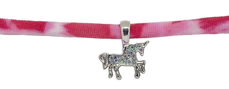 Unicorn Tie Dye Stretch Choker