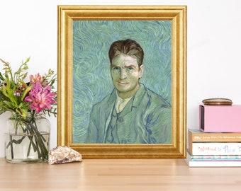 Charlie Sheen Van Gogh Artwork