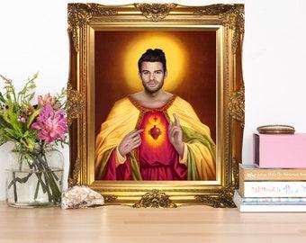 Elijah Mikaelson Jesus Christ Artwork