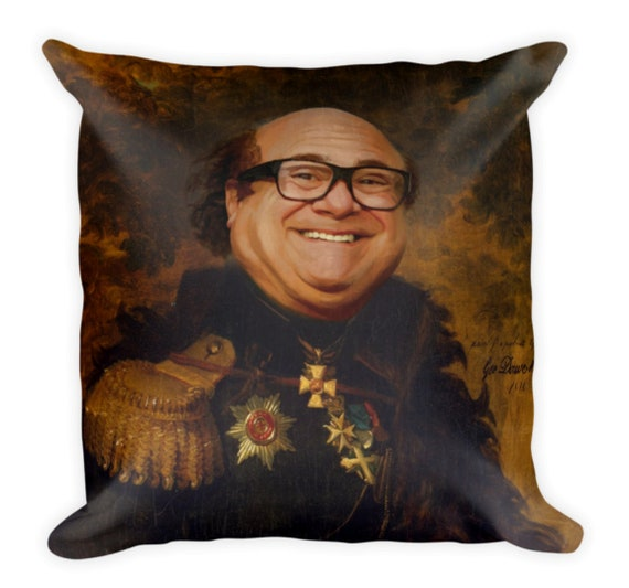 Danny Devito Body Pillow.Danny Devito Print Throw Pillow