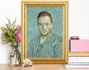 Jude Law Van Gogh Artwork