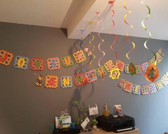 banner happy birthday patpatrouille