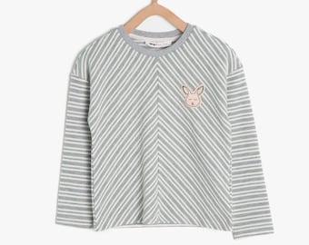 Raglan Sweatshirt Girls Kids Clothing,  5-6 years