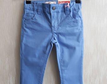 Hose für Mädchen, blaue Hose Mädchen