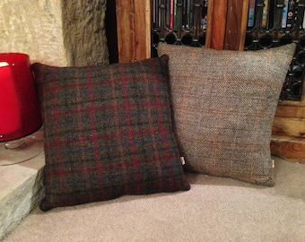 Authentic Harris Tweed Cushion Cover - Multiple Tweeds & Sizes
