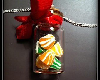 Multicolor Berlingot candy necklace