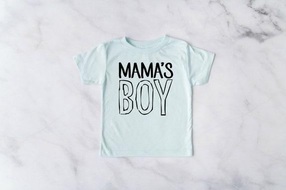 Mama's Boy TShirt, Momma's Boy Kid's Shirt, Soft Toddler Tees, Toddler Clothes, Momma's Boy Shirt