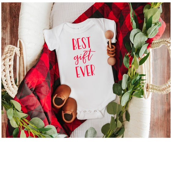 Best Gift Ever Infant Bodysuit | Baby Clothes | Infant Clothes | Baby Shower Gift | Infant Short Sleeve Bodysuit