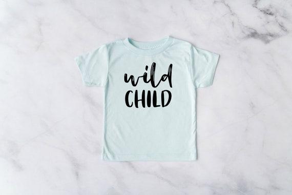 Wild Child Shirt, Wild Child Tee, Toddler T-Shirt, Toddler Clothes, Toddlers Tees Toddler Shirts with Sayings, 2T boys, 3T boys