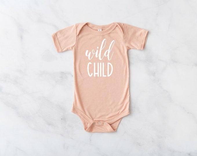 Wild Child Infant Bodysuit