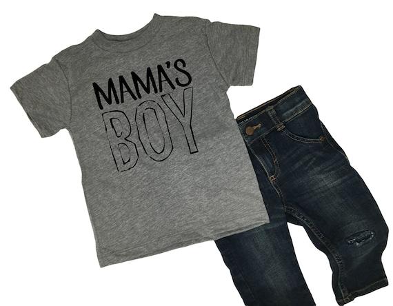 Mama's Boy TShirt, Momma's Boy Kid's Shirt, Soft Toddler Tees, Toddler Clothes, Momma's Boy Shirt, 2T Boy Clothes, 3T Boys Clothes, 4T Boys