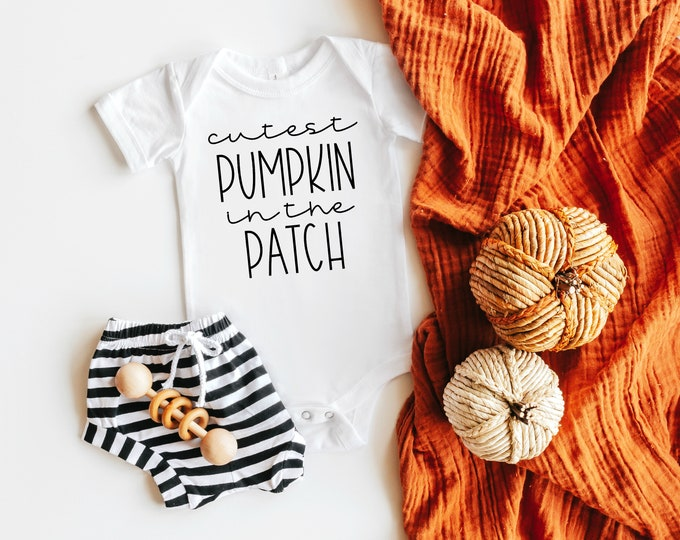 Cutest Pumpkin in the Patch Infant Bodysuit