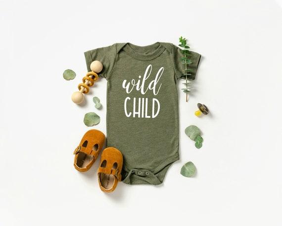 Wild Child Baby Bodysuit