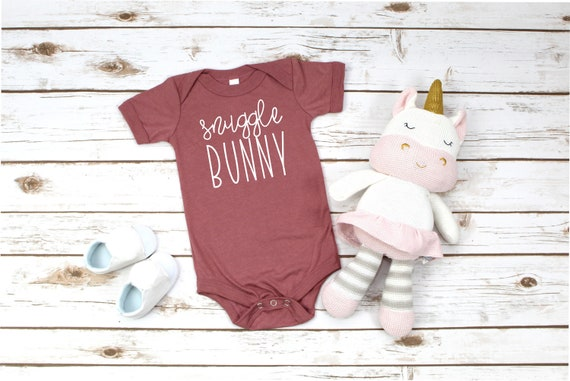 Snuggle Bunny Infant Bodysuit, Baby Shower Gifts, Baby Boy, Baby Girl, Baby Gift, Baby Boy Clothes, Baby Girl Clothes, Cute Baby Clothes