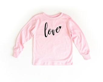 Love Long Sleeve Toddler Shirt