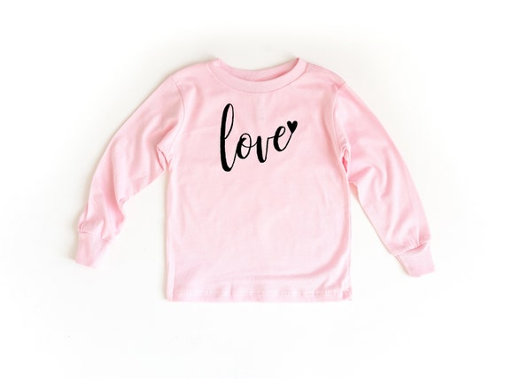 Love Long Sleeve Toddler Shirt