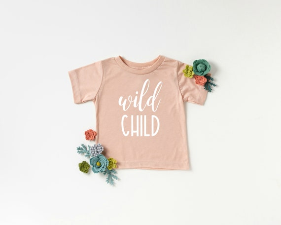 Wild Child Baby Bodysuit, Baby Bodysuit, Infant Bodysuit, Baby Girl Clothes, Wild Child Shirt, Baby Girl Outfits