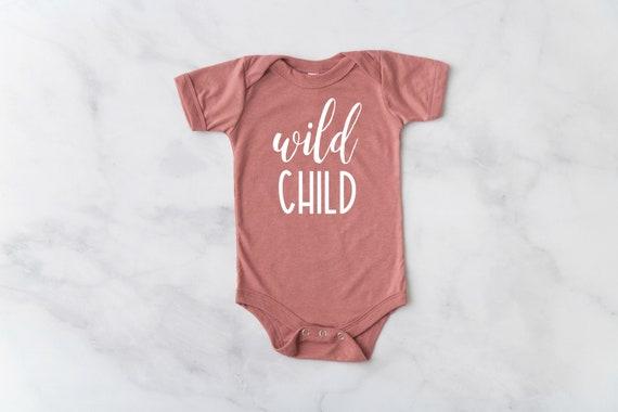 Wild Child Baby Bodysuit, Wild Child Infant Bodysuit