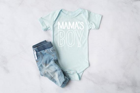 Mama's Boy Infant Bodysuit | Baby Clothes | Infant Clothes | Baby Shower Gift | Infant Short Sleeve Bodysuit
