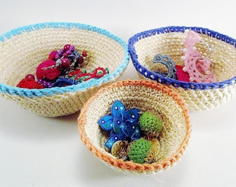 Super stylespetits baskets, baskets of arrangement for table tidy