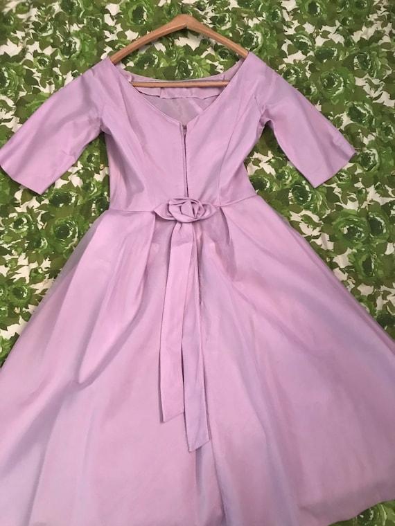 Sweet Lavender Vintage Dress