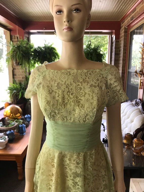 Vintage Lace Dress - image 1