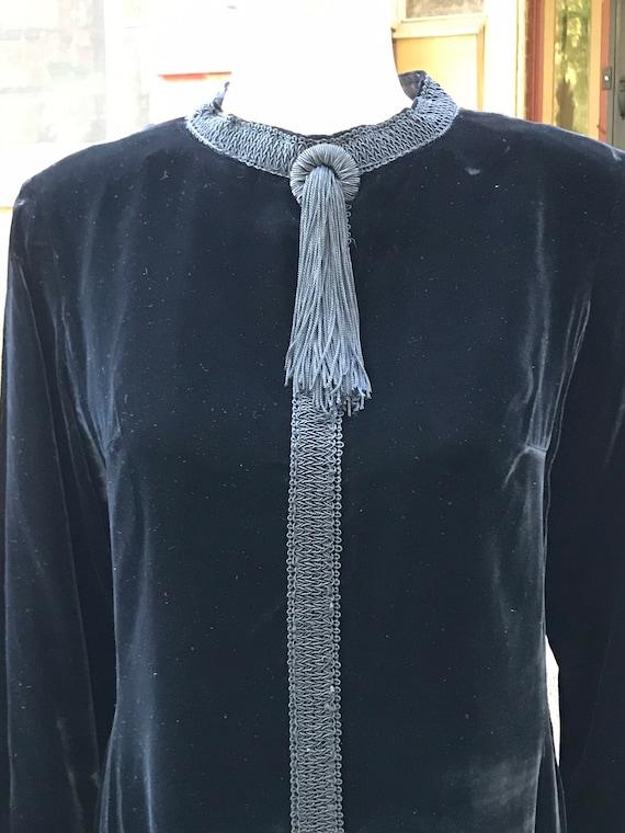 Fabulous Vintage Velvet Dress