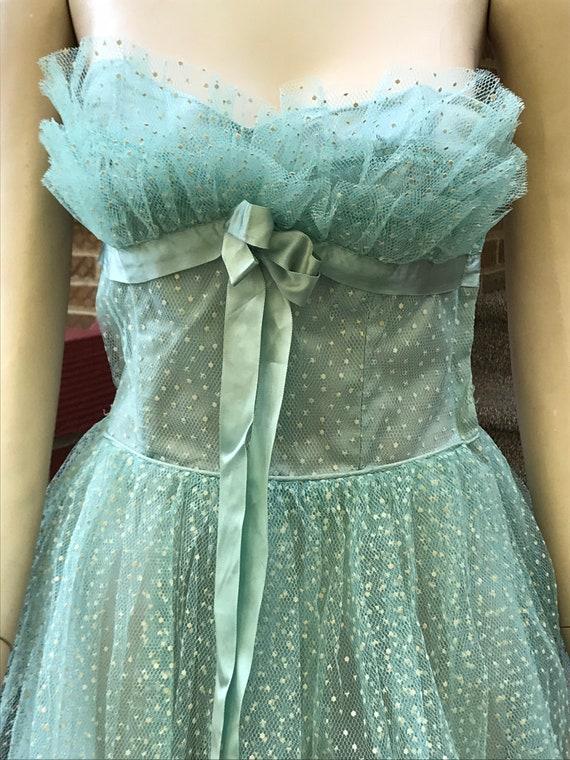 Vintage Prom Tulle Dress