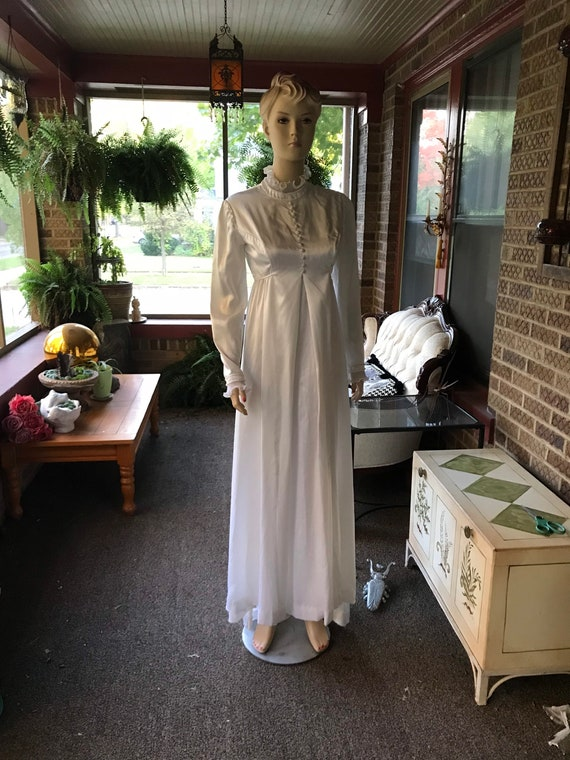 Vintage Emma Domb Bridal Dress