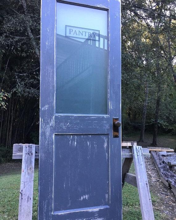 Vintage Pantry Door Antique Pantry Door Barn Pantry Door Barn Etsy