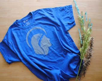 St. Teresa of Calcutta Shirt. Unisex Adult Shirt. Bleach Dyed Shirt. Mother Teresa Shirt. Saint Profile Shirt. Catholic Shirt. Saint Shirt.