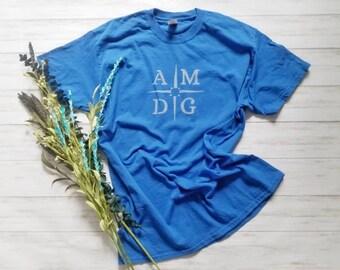 AMDG shirt. Ad Majorem Dei Gloriam shirt. Youth shirt. Toddler shirt. Bleach dyed shirt. Catholic shirt. For Greater Glory of God. Jesuit.