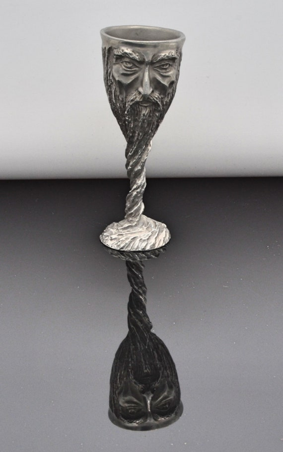Lord of the Ring Gandalf Pewter Goblet, Royal Selangor Signed By Artist. Mint Condition!