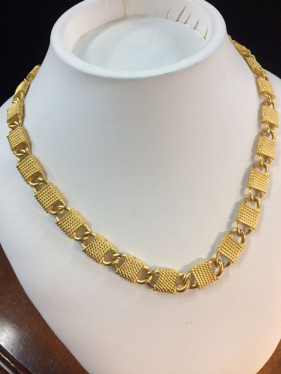 Anne Klein Chain Link Necklace