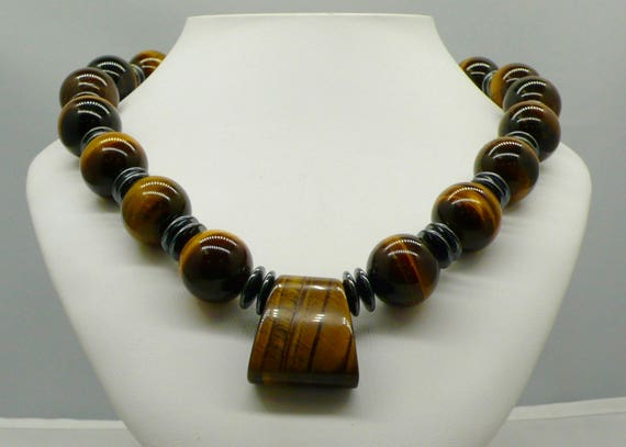 WOW!! Amazing Tigers Eye Necklace