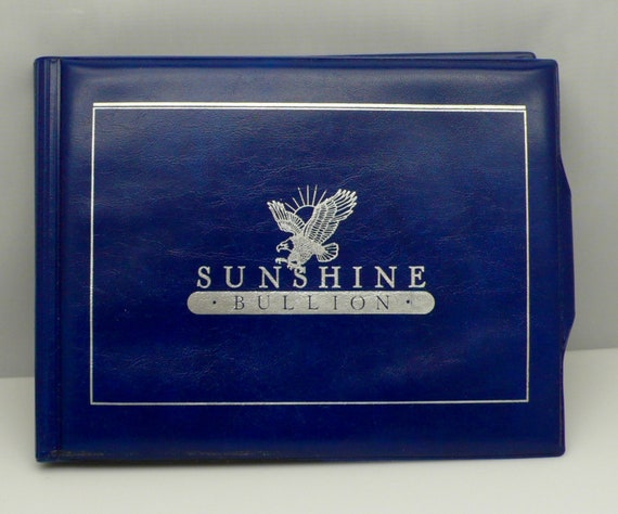 Vintage 1982 First Annual Edition Proof Set 7 Troy Oz by Sunshine Bullion with COA and is Numbered