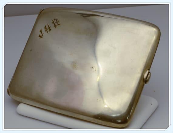 Tiffany & Co. Sterling Silver Antique Cigarette Case 1950's