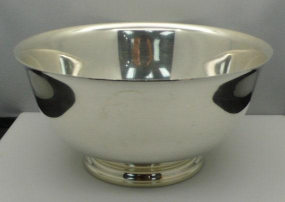 "Vintage Tiffany & Co #22970 Paul Revere Bowl - 8-3/8"" x 4-1/2""  Sterling Silver"
