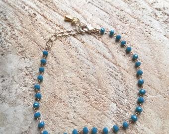 Bracelet / / SUMMER collection / / teal
