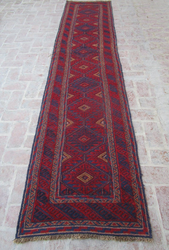 Reduced Price Office Rug Antique Rug Red Rug Afghan Rug Etsy
