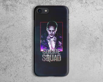 Suicide Squad Joker Jared Leto Durable Hard Plastic Protective Case For  iPhone 7 cedf50911d1