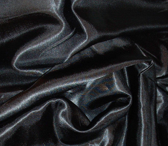 Red Silky Satin Dress Craft Fabric Wedding Material 150cm Wide