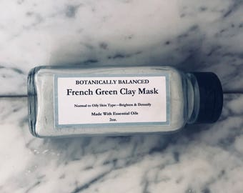 French Green Clay Facial Mask
