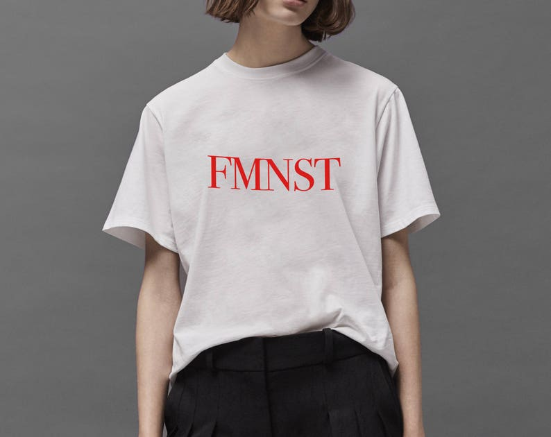 0be1816c61a57 FEMINIST FMNST T-shirt woman girl power Trendy Stylish Cool tee BEYONCE  graphic tee gift