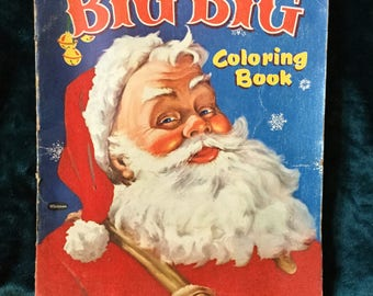 Large Coloring Book Etsy