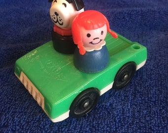 Fisher Price Little People two seat car