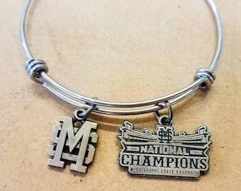 Mississippi State 2021 NCAA Baseball Championship bracelet!